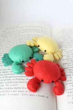 PDF Pattern - Felt Crab Pin Cushion Plush