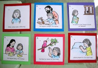 catequese infantil São josé Operário.: Quando Jesus era um garotinho