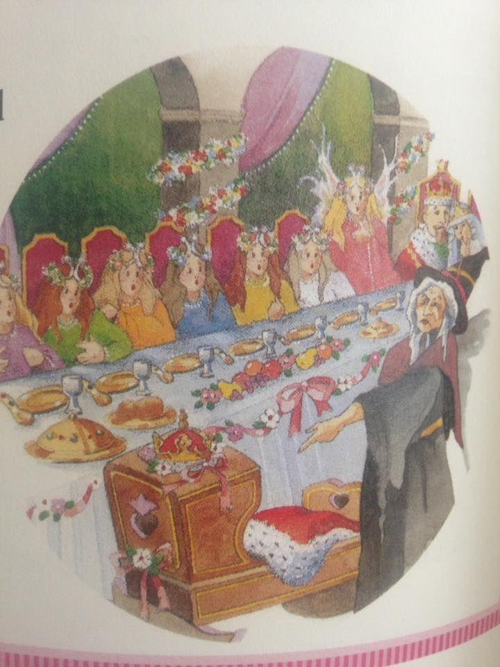 Sleeping Beauty- Evil Fairy places an evil curse on the ...