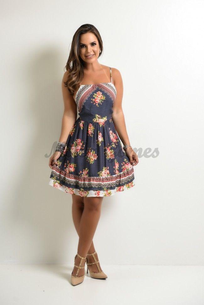 7cd3a220c Vestido Farm Curto Floral Nami | Moda | Vestido farm, Dresses e ...