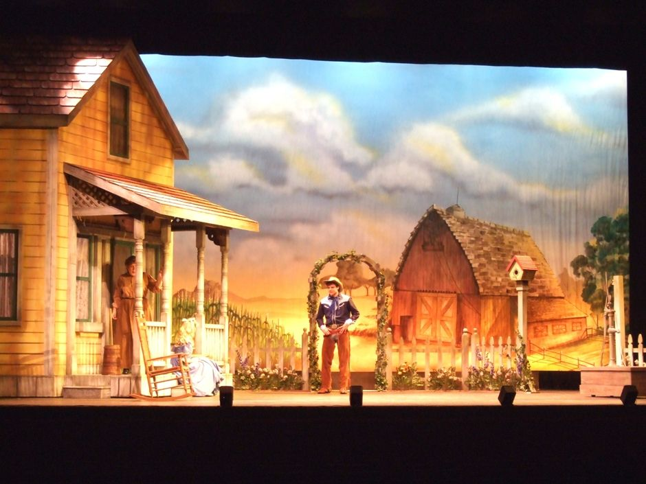 Oklahoma scenery for rent in 2020 Oklahoma musical