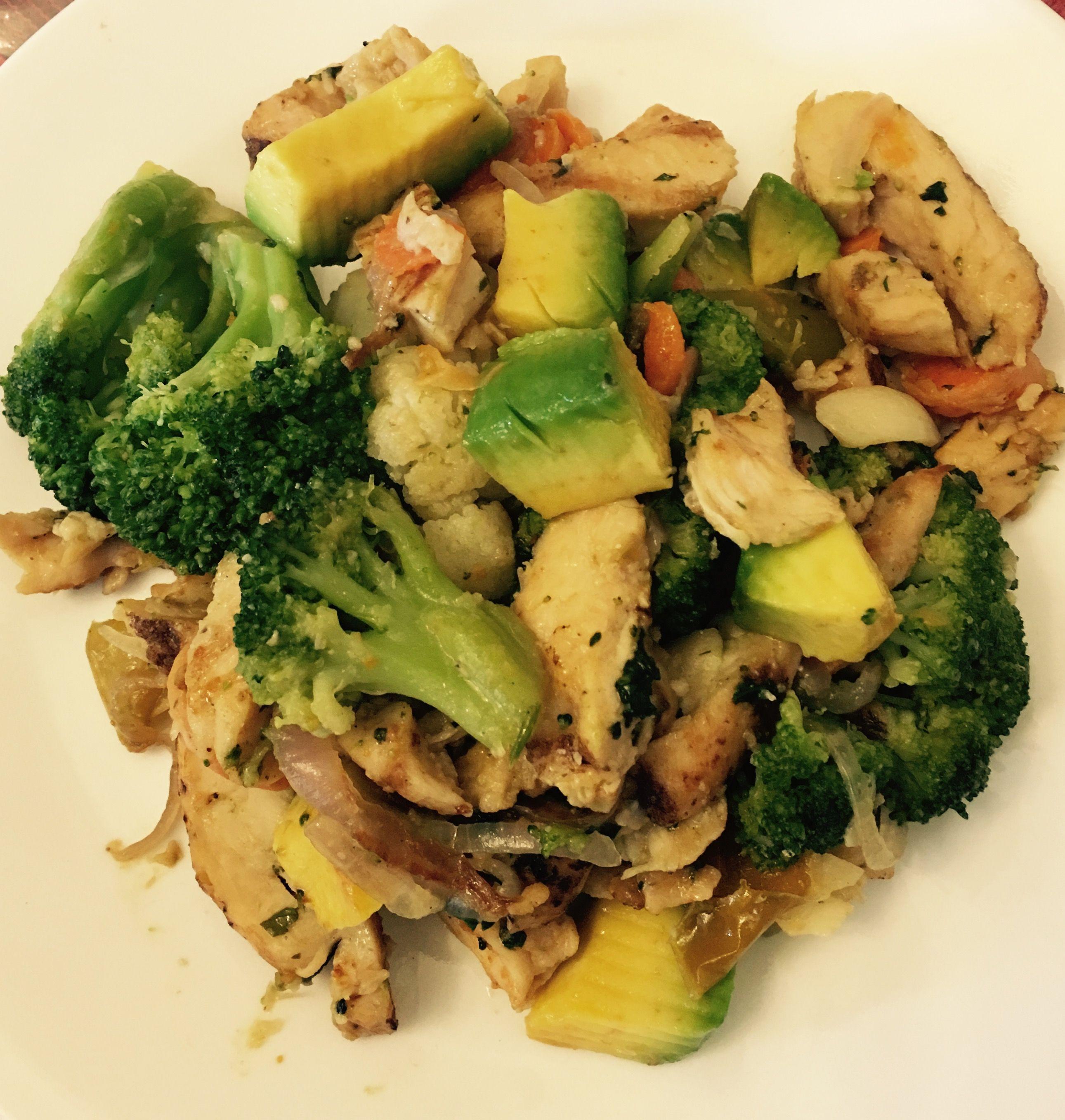 salsa para ensalada brocoli y coliflor