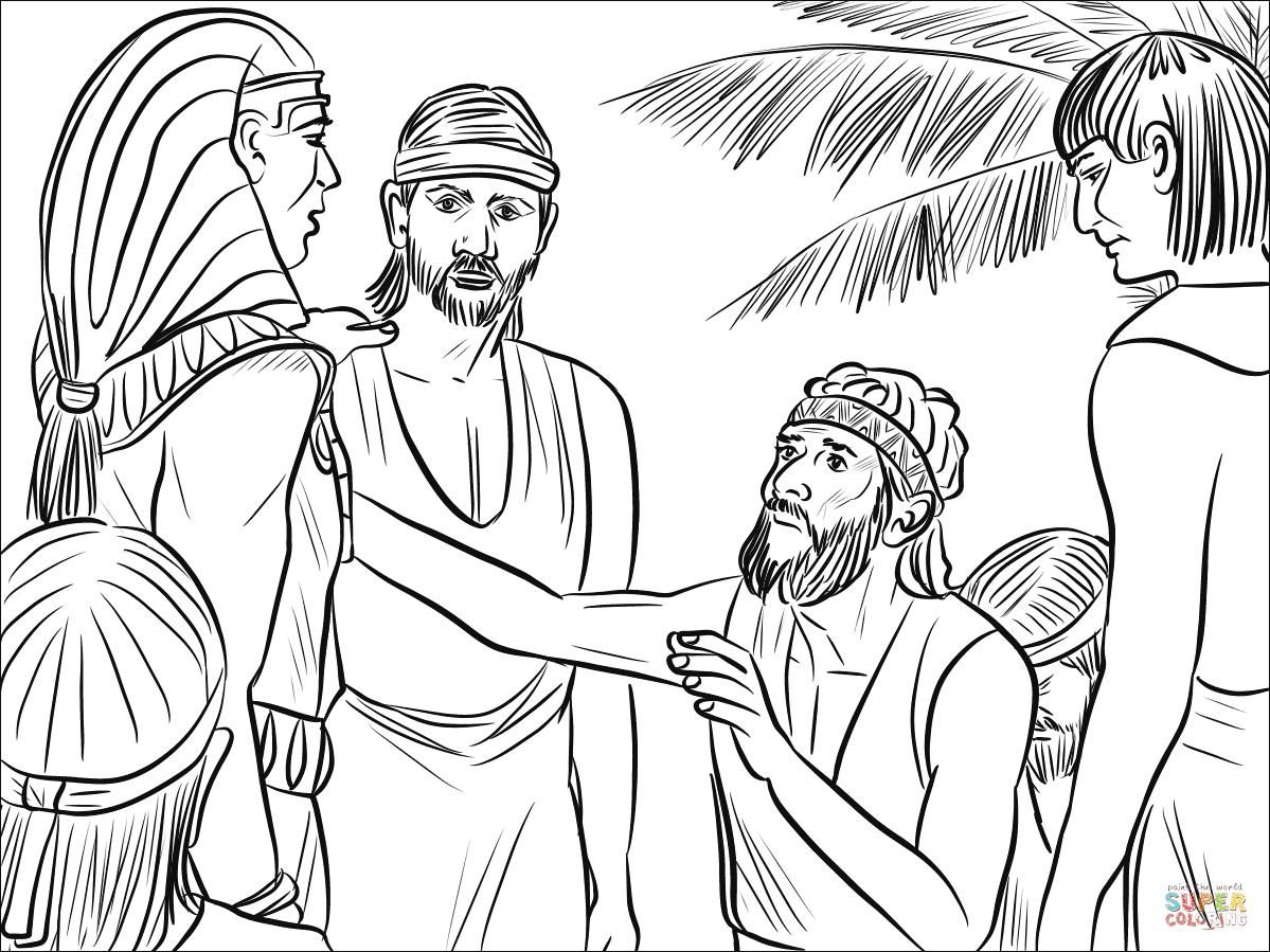 Nice Coloring Page Joseph That You Must Know You Re In