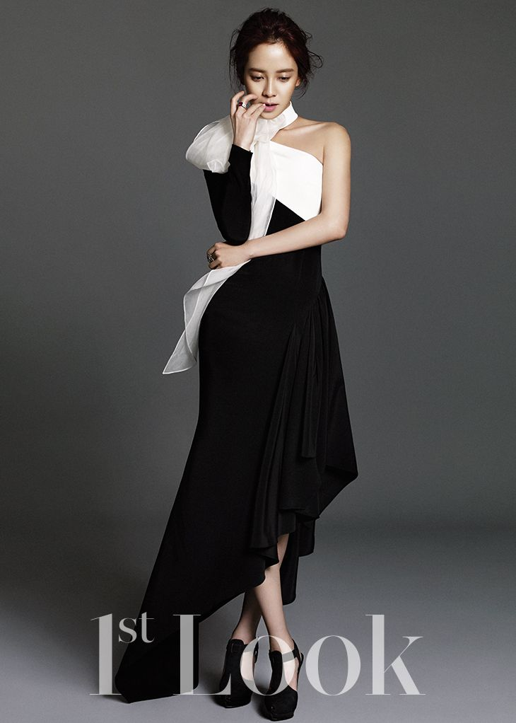Song Ji Hyo for 1st Look