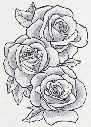 Rose Tattoo Stencil , Best Tattoo Ideas