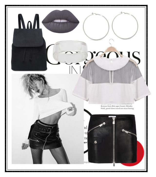 """""""Gorgeous in 5"""" by ladybug71181 ❤ liked on Polyvore featuring Anine Bing, INC International Concepts and Lime Crime"""