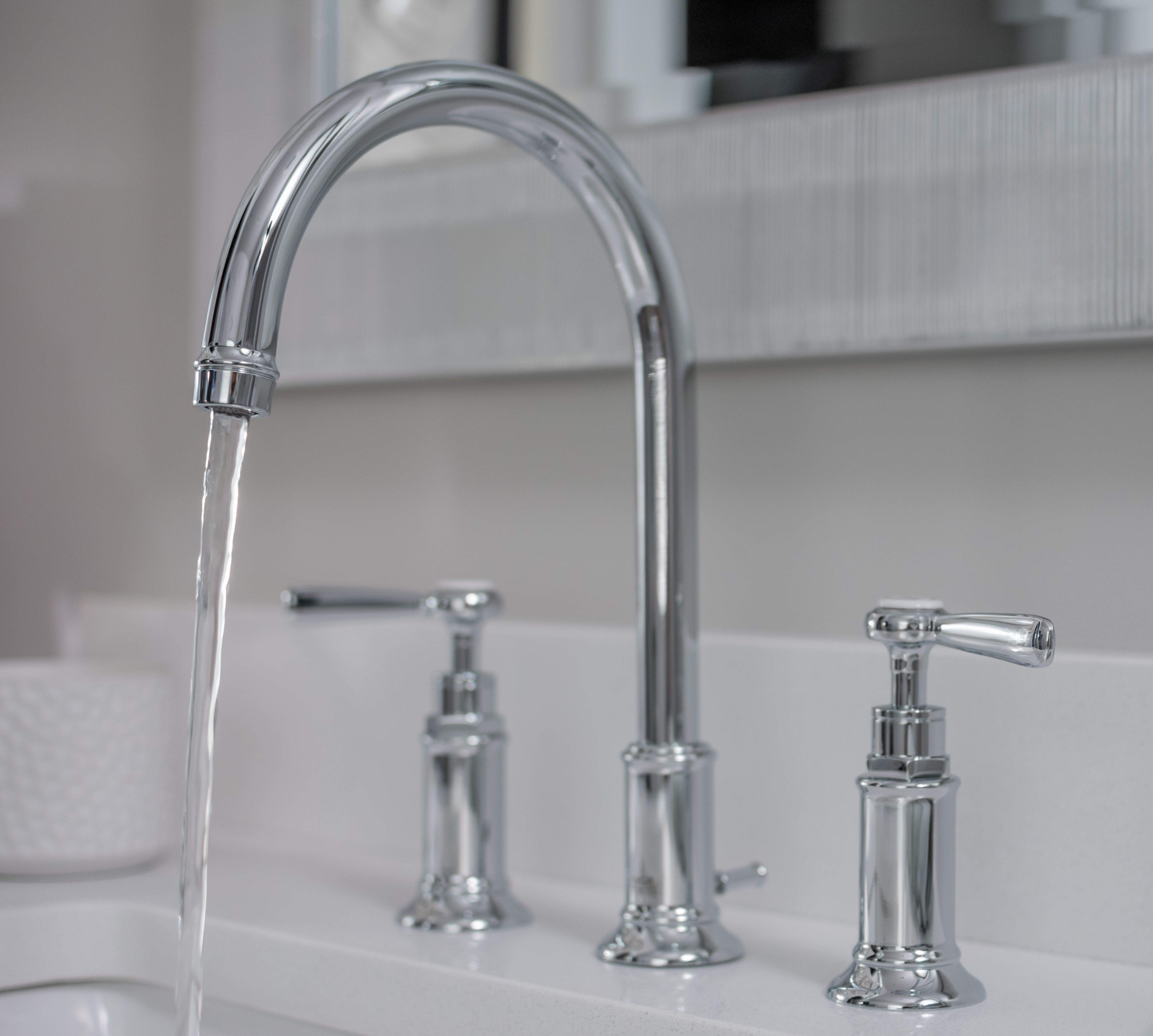 Axor Montreux Widespread Faucet with Lever Handles in Chrome from ...
