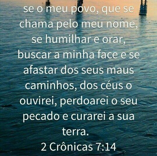 2 Cronicas 7 14 Com Imagens Palavra Amor De Deus Deus