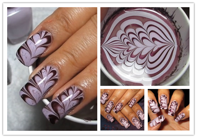 How to make valentines heart water marble nail art step by step diy how to make valentines heart water marble nail art step by step diy tutorial instructions solutioingenieria Images