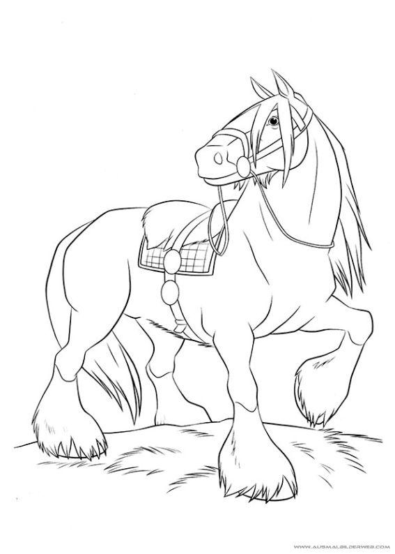 ausmalbilder pferde shire horse  tiffanylovesbooks