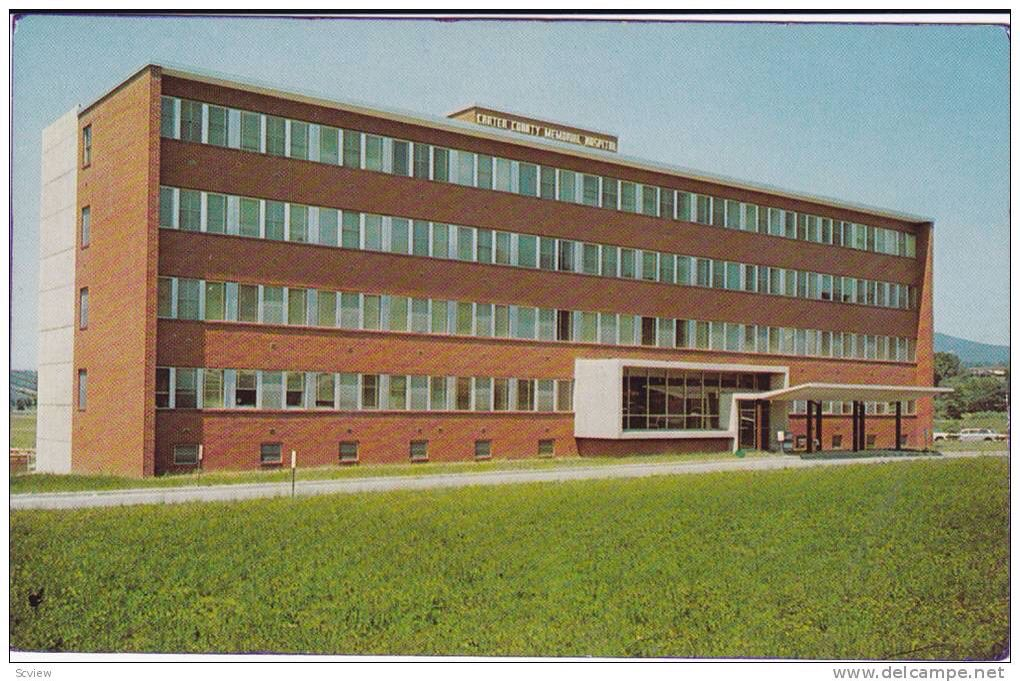 Carter co memorial hospital i worked there country