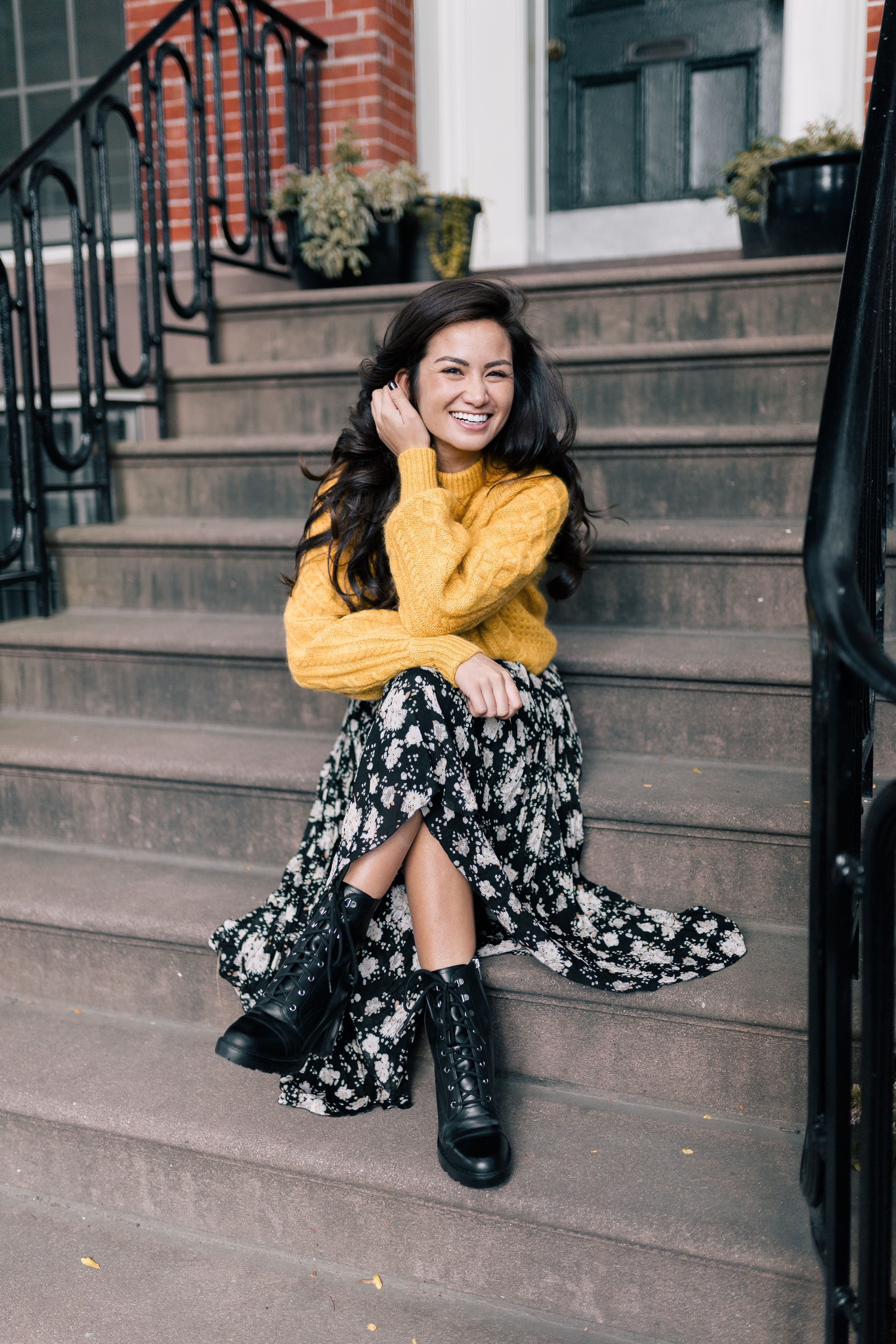 a343b4abfc DSW shoes fall | Fall outfit ideas | NYC street style Fall | nyc fashion  bloggers