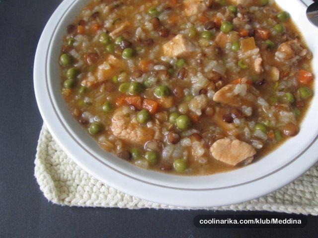 Corba sa Piletinom i Povrcem