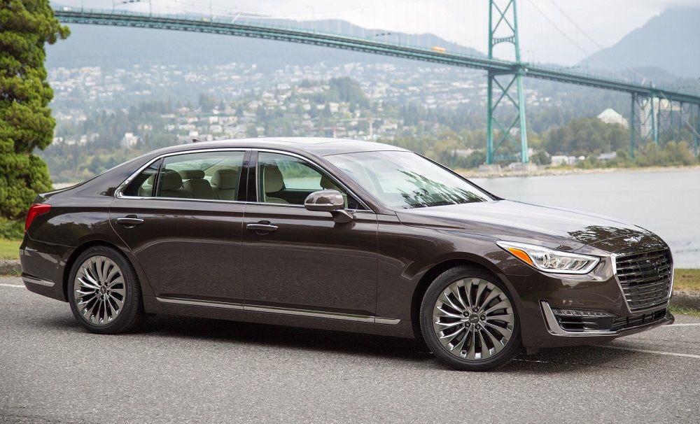 Genesis G90 Named 2017 S Most Satisfying Car Hyundai Genesis Luxury Sedan Hyundai