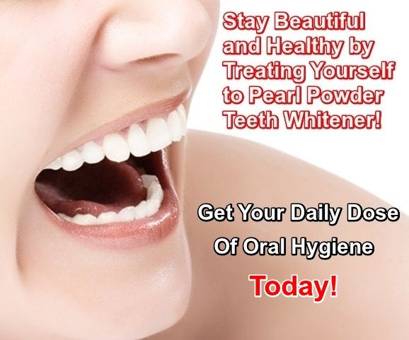 Maintain Good Oral Care With Pearl Powder