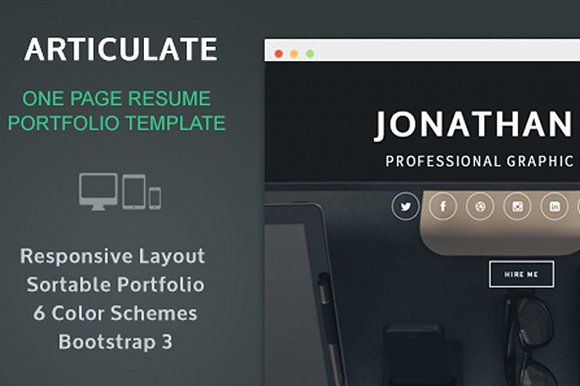 ArticulateResume Portfolio By Authentic Goods Co On