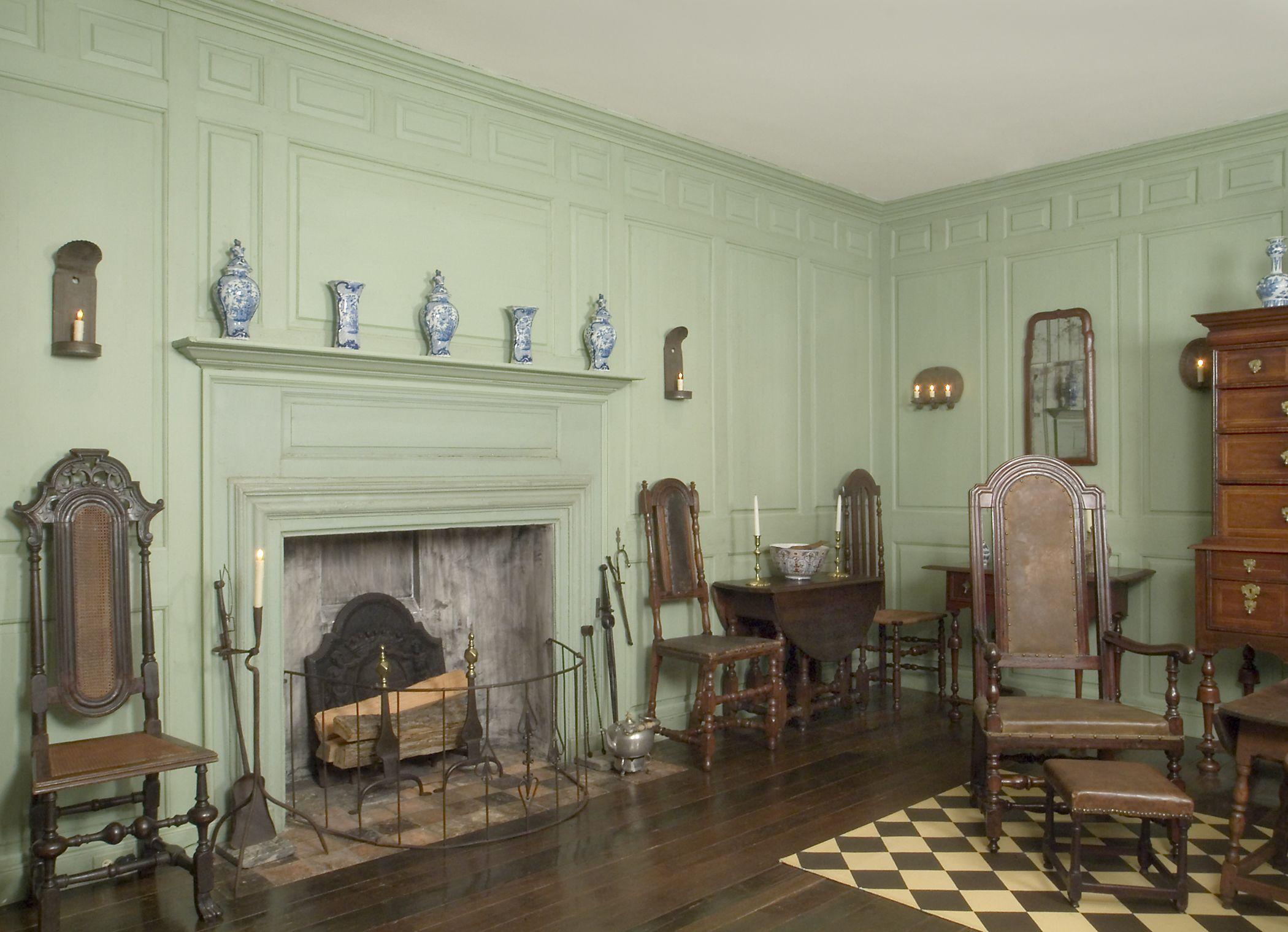 tappahannock room, winterthur museum | green is the prettiest