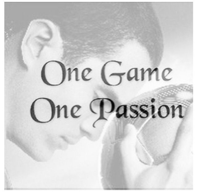 One game One passion my passion. Lol that's Santiago Muñez from the movie Goal!!! :*