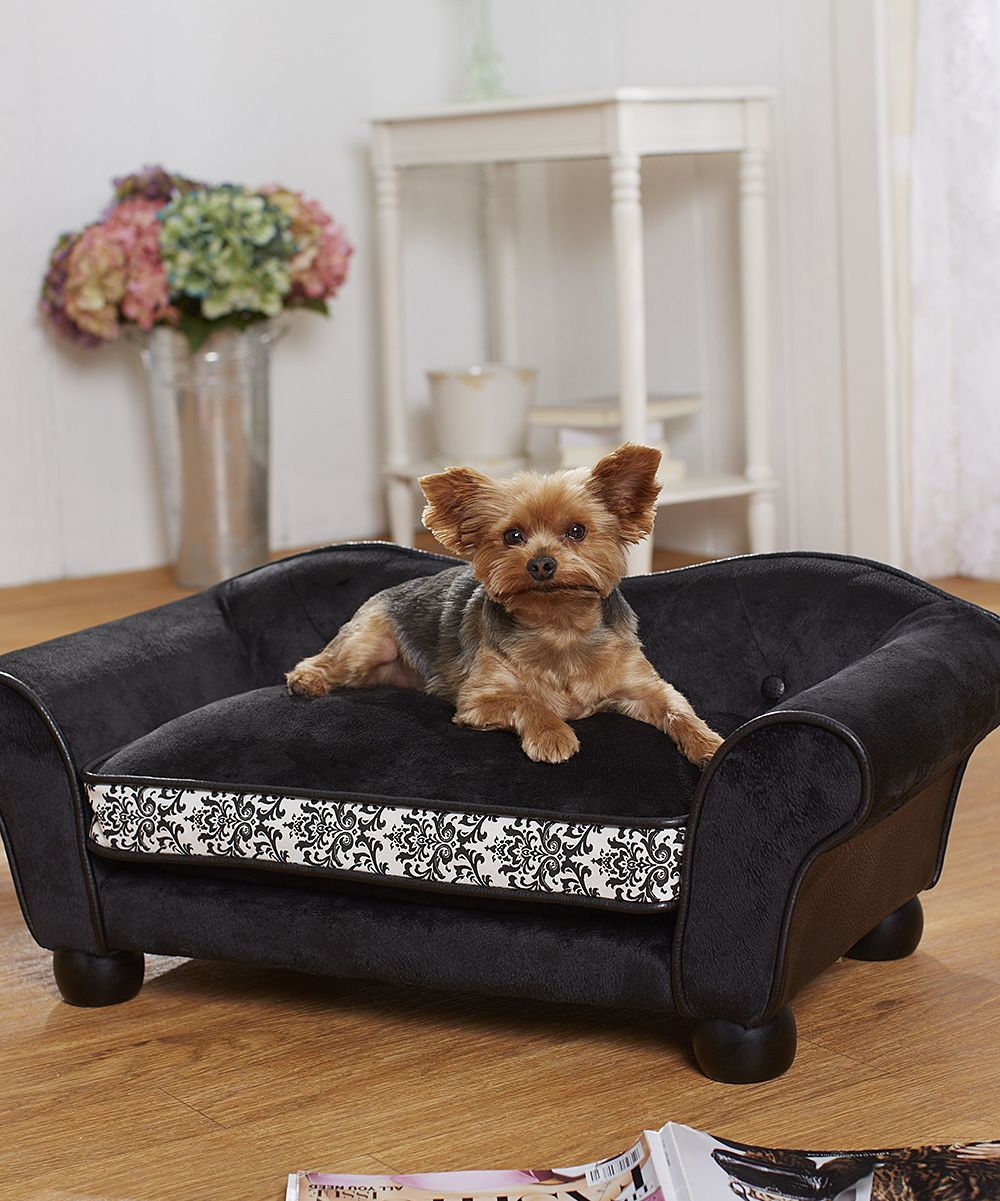Love Yorkies The Bed Is Cute Too Pet Sofa Bed Pet Bed Pet Beds