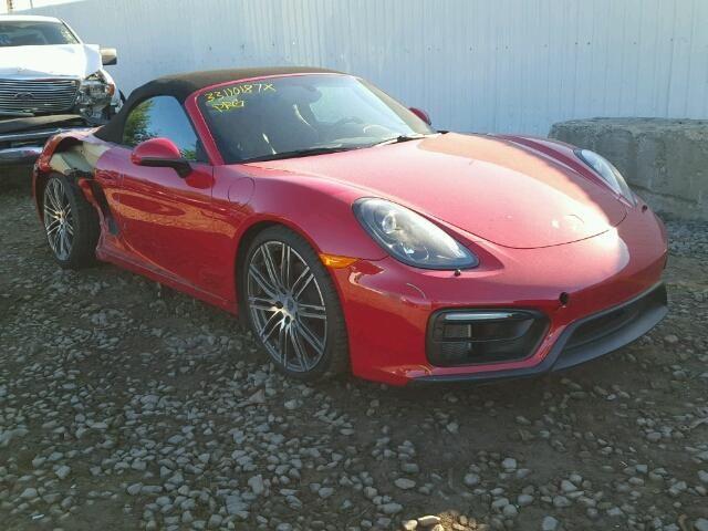 2015 Porsche Boxster S Convertible For Sale   Salvage Title