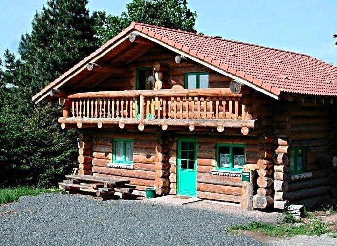 Les fustes  des maisons en rondins de bois Wood cabins, Cabin and - Plan Maison Sweet Home 3d