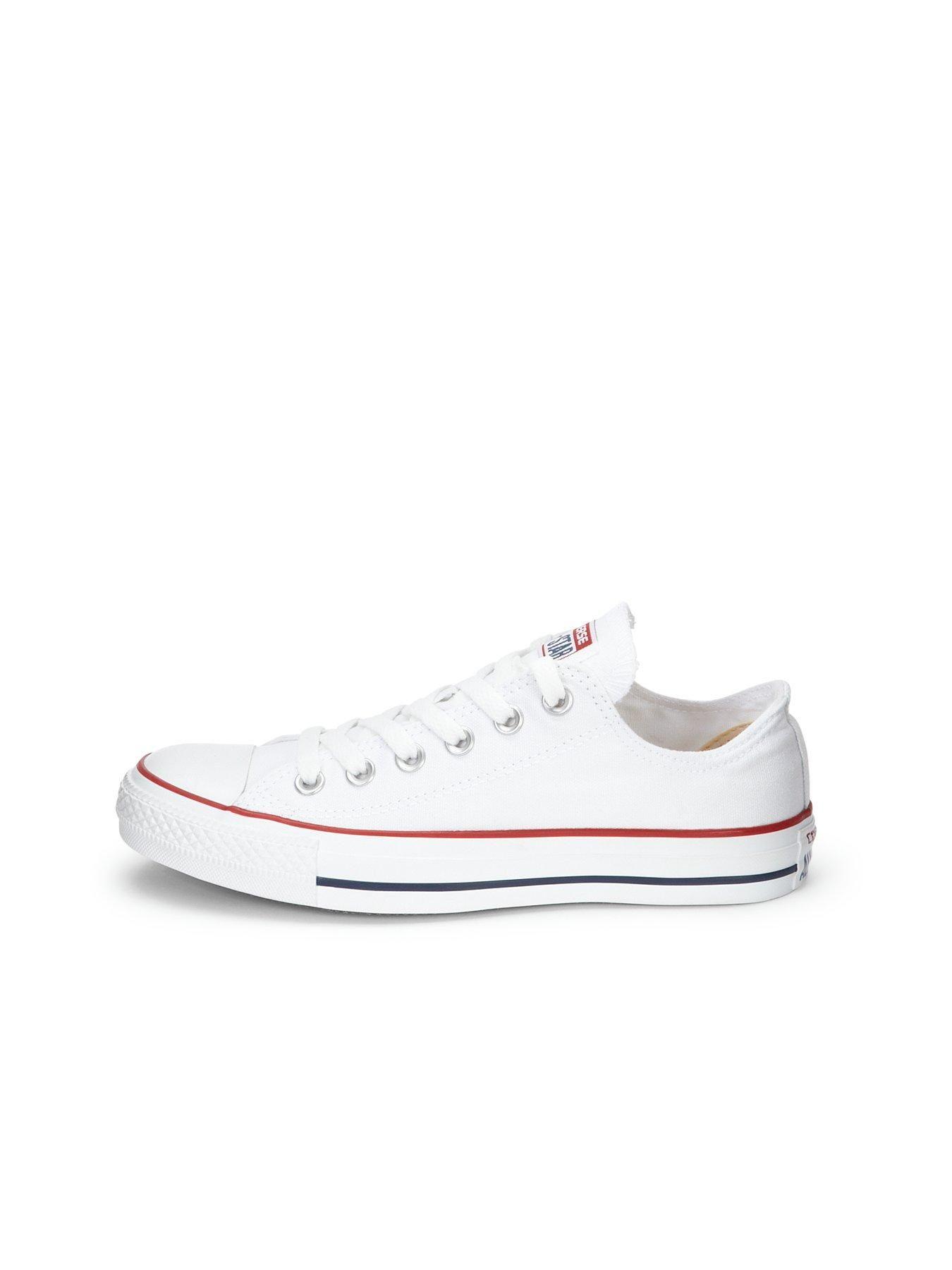 Converse Chuck Taylor All Star Ox Plimsolls White, White