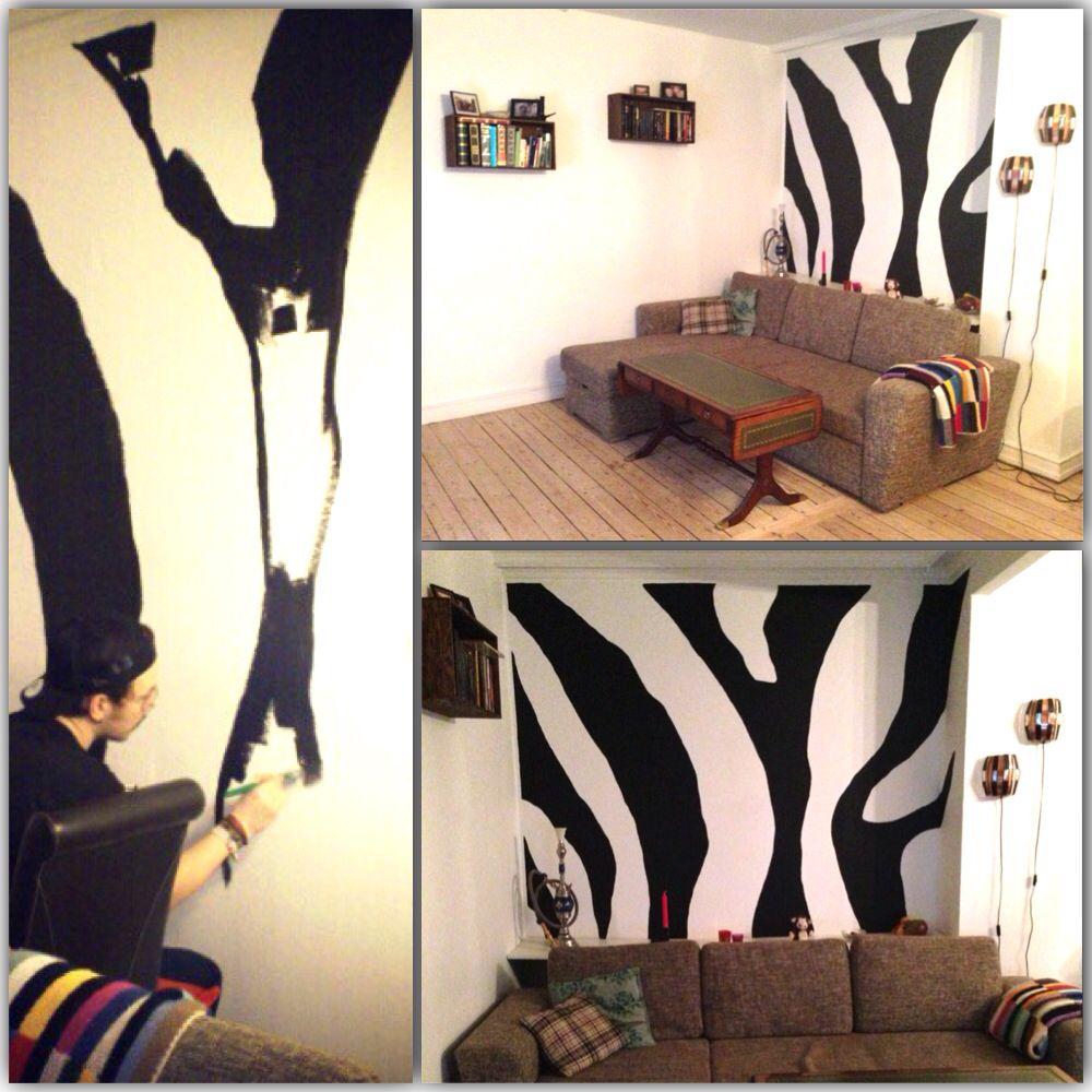 Zebra Wall!