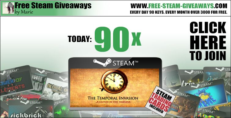 Free steam keys 90x the temporal invasion hering