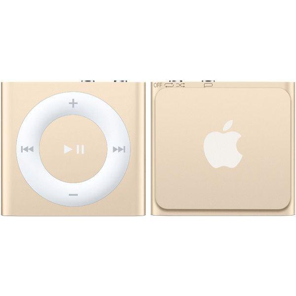 Ipod Shuffle Gold Apple Ipod Ipod Apple Brand