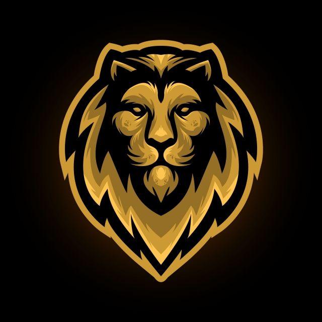 Golden Lion Mascot Lion King Clipart Lion Mascot Png And Vector With Transparent Background For Free Download Lion Artwork Lion Illustration Golden Lions