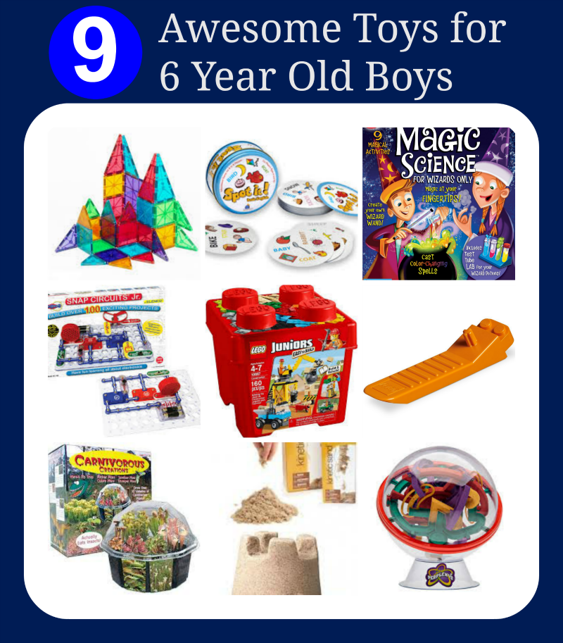 Awesome Toys For Six Year Old Boys More Amazing
