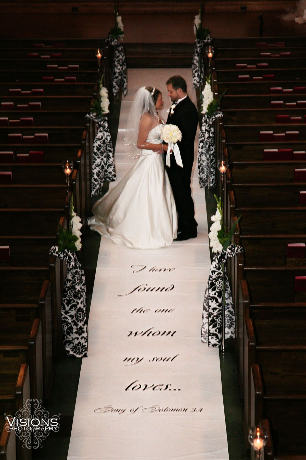 I Have Found The One Whom My Soul Loves Song Of Solomon We Specialize In Painting Scripture And Verse On Wedding Aisle Runners