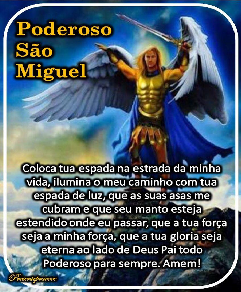 Oracao De Sao Miguel Arcanjo Oracao De Sao Miguel Arcanjo