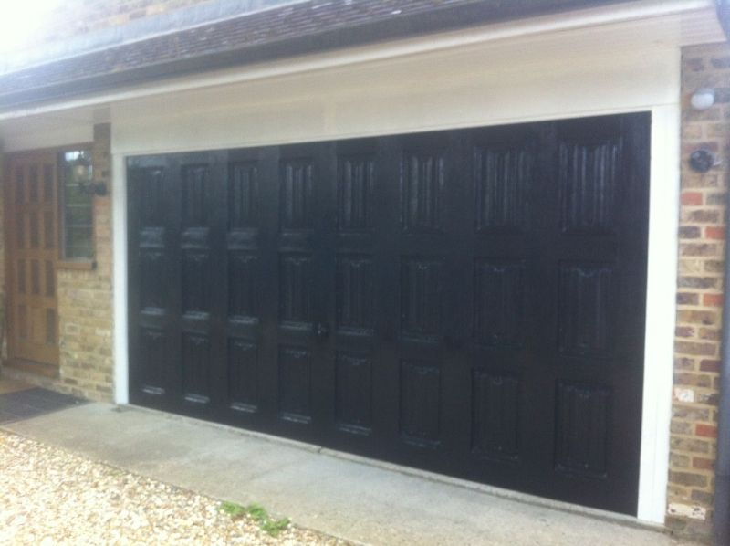 Black Garage Doors Garage Doors Black Garage Doors Residential Garage Doors