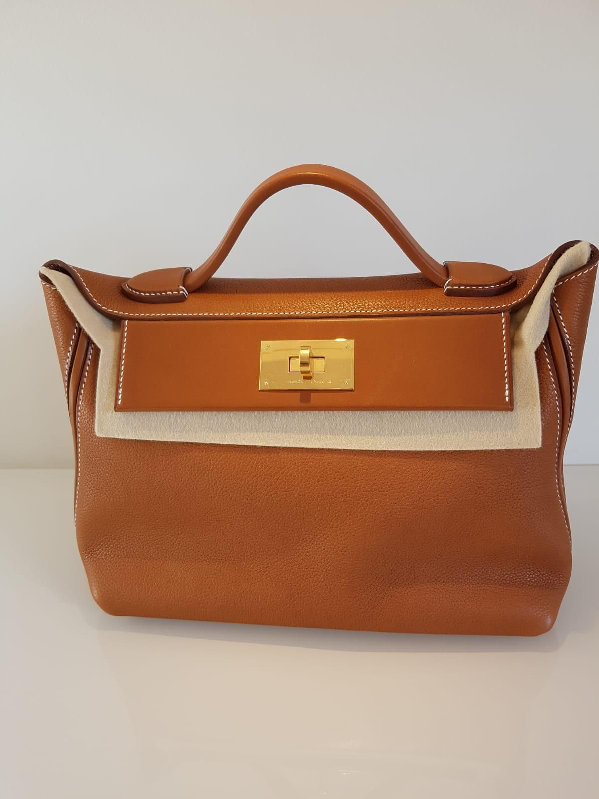 7c1206dc4e40 Hermes 2424 29cm Barenia  2424  hermes2424  handbag  toat  barenia  gold   rarebag  hermesbag  newcollection  neutral  gifts