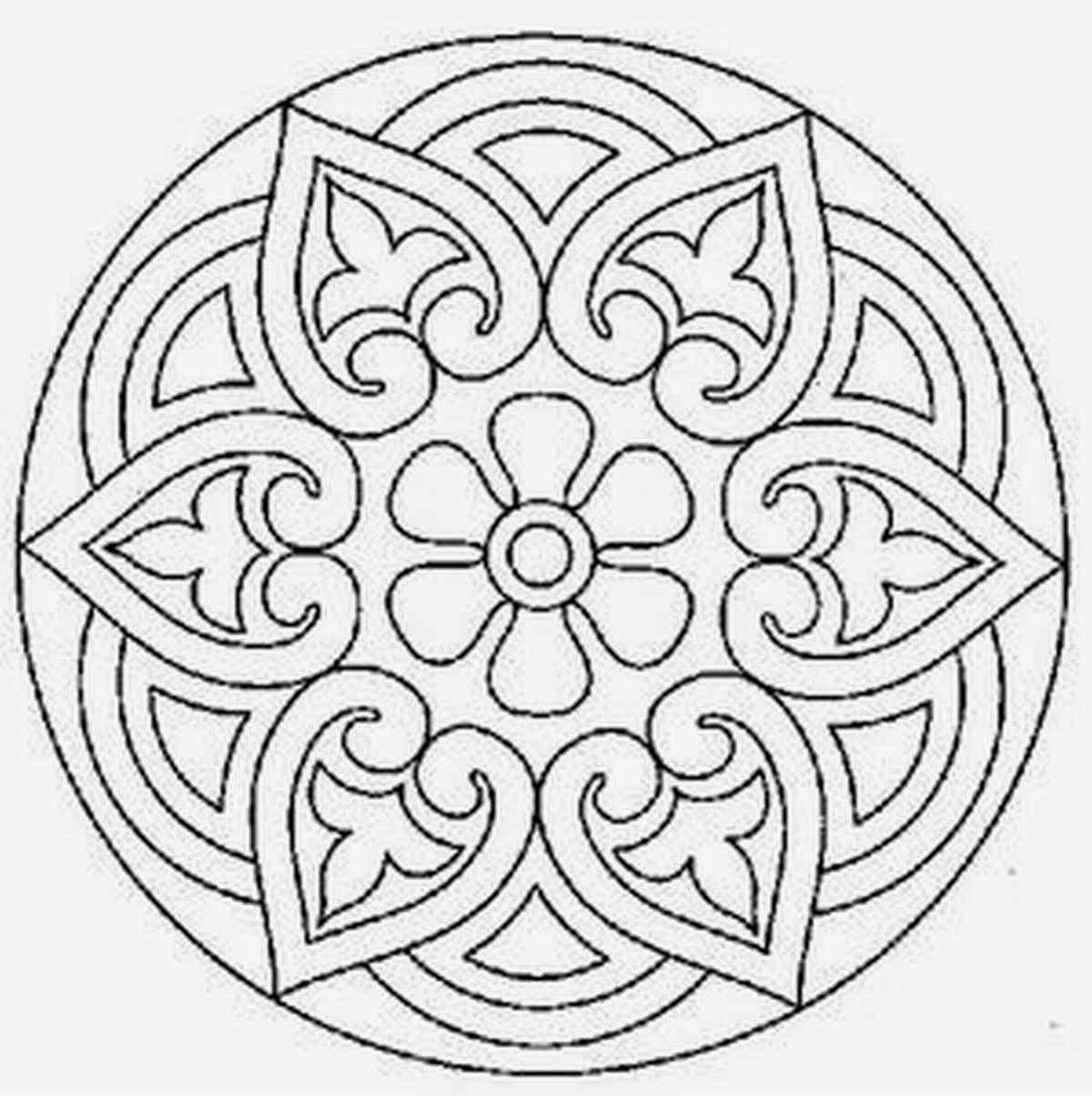Mandalas Para Pintar: mandalas para imprimir | patrones mandalas ...