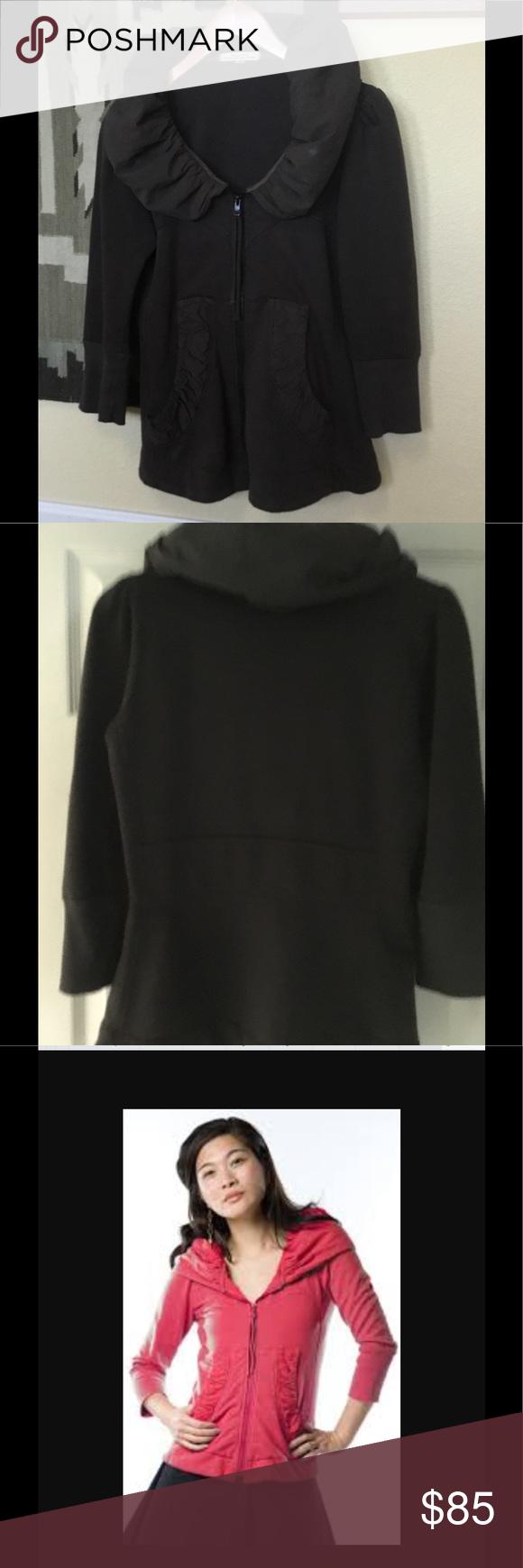 Prairie underground 3/4 sleeve cloak hoodie Excellent
