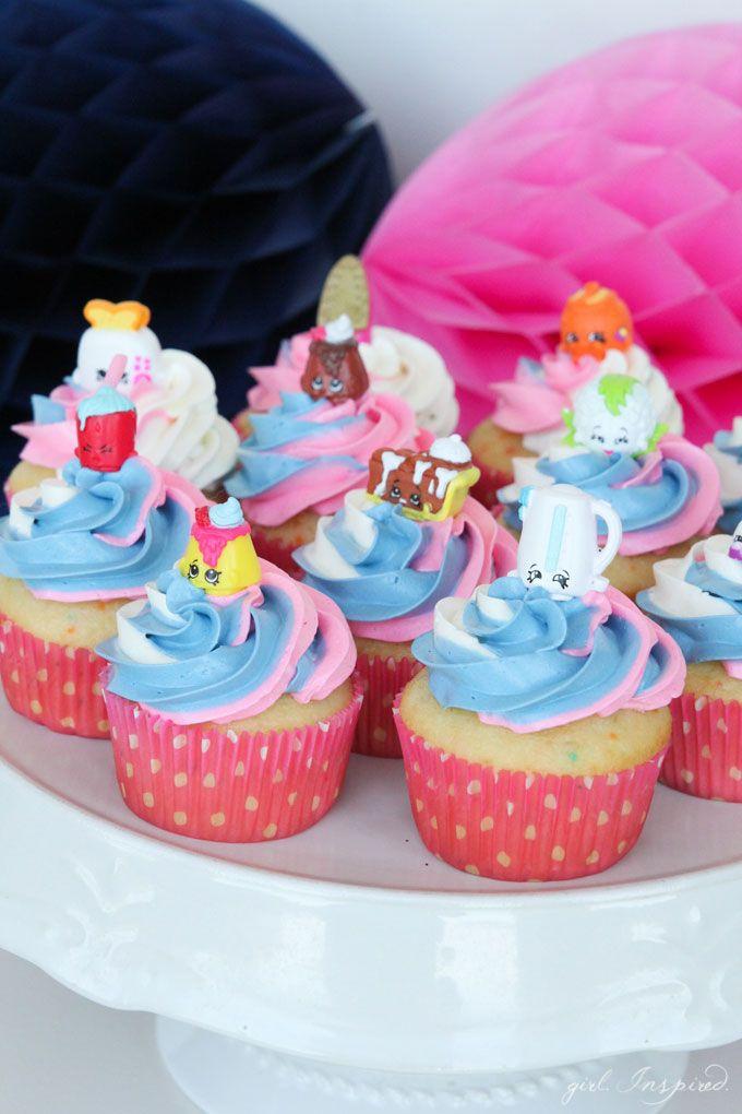 Shopkins Cupcakes Girl Inspired Shopkins Cupcakes Shopkins Birthday Cake Shopkins Birthday Party