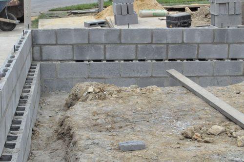 How To Build A Concrete Block Foundation Concrete Block Foundation Concrete Blocks Concrete