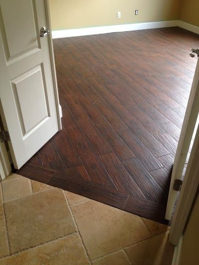Finished The Odessa Florida Music Room With Tile Berkshire Maple