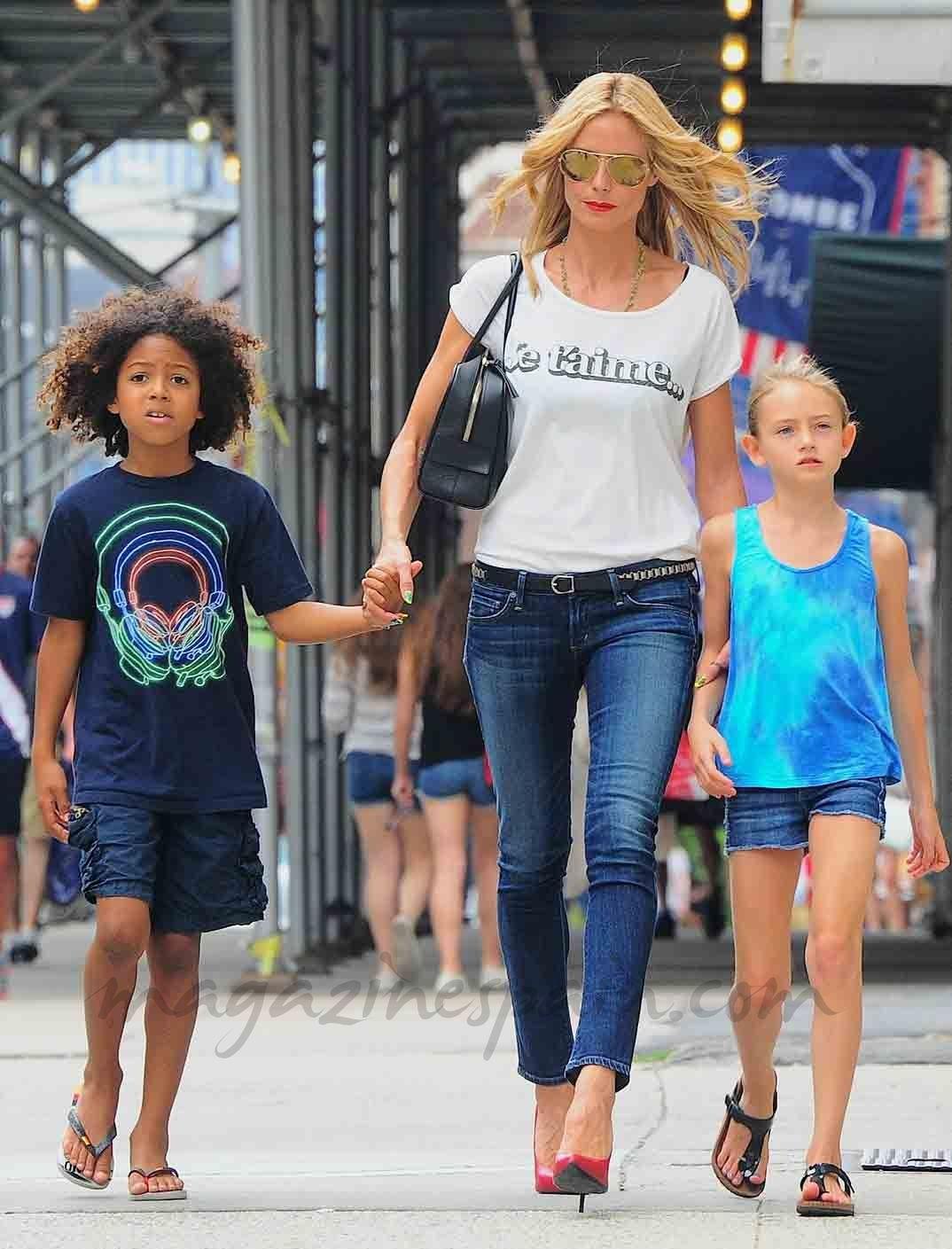 d5df08ce65bf5 Heidi Klum y sus hijos