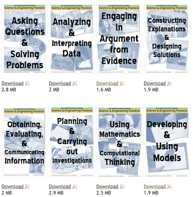 NGSS: Science & Engineering Practices Posters | Science ...