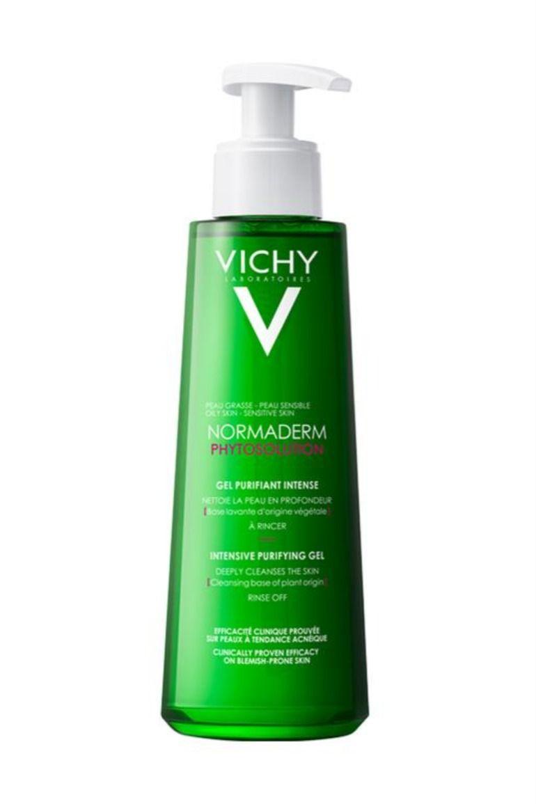 تجربتي مع غسول ومرطب فيتشي Vichy Normaderm Phytosolution Hand Soap Bottle Shampoo Bottle Gel