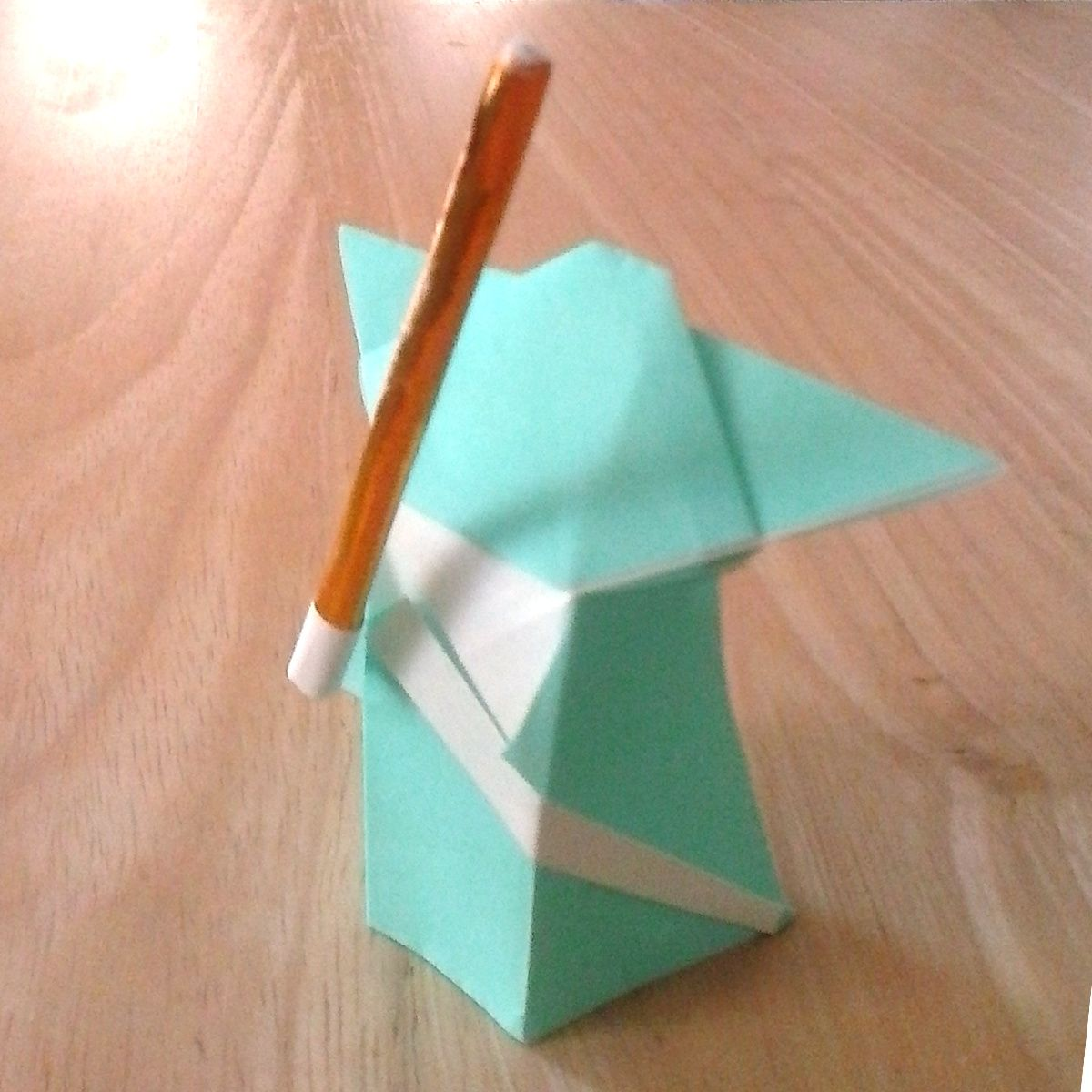 Origami Yoda And Lightsaber To Make Pinterest Origami Yoda