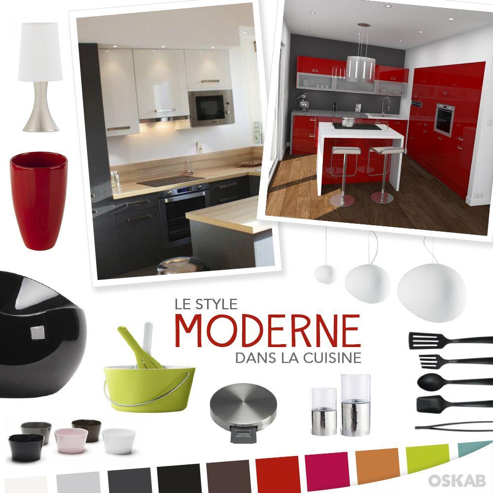 Modèle de cuisine équipée, moderne, américaine | Magazine layouts ...