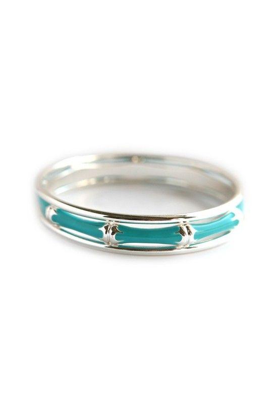 Bangle set Turquoise-Silver