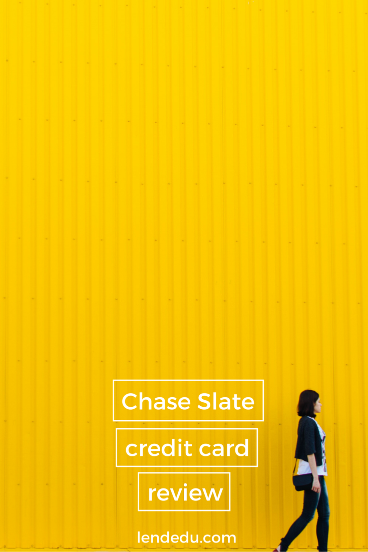Chase Slate Credit Card Review Great for Paying Off Debt