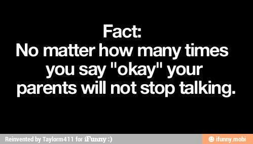 never stop talking