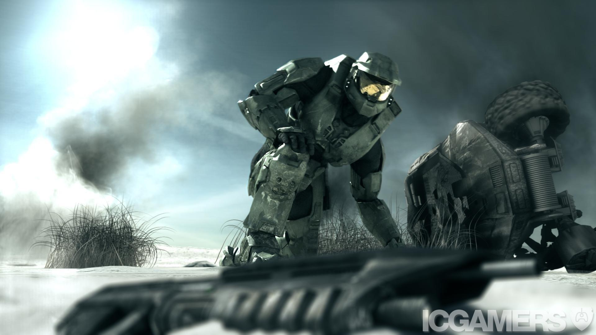 Halo 3 Trailer Pic Halo Halo Game Halo Reach Halo 3
