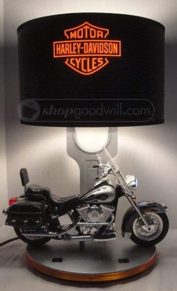 Harley Davidson Heritage Softail Lamp W Sound Efx Softail